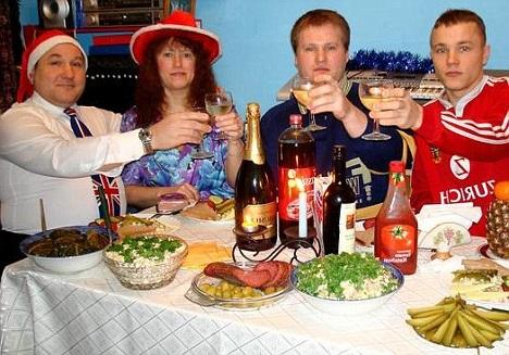 Makanan Terfavorit Negara Rusia