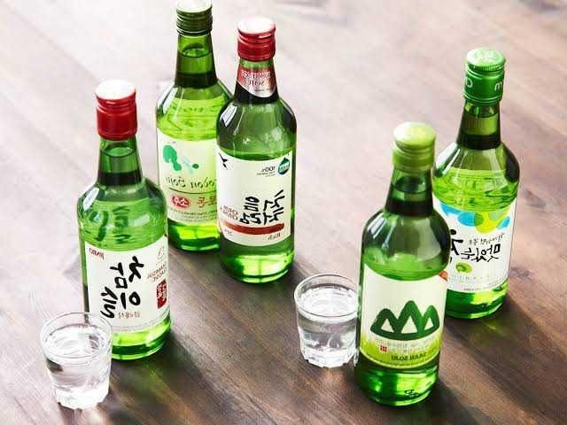 Minuman Khas Korea Selatan Soju